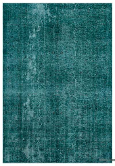 "Over-dyed Turkish Vintage Rug - 6' 10"" x 9' 11"" (82 in. x 119 in.)"