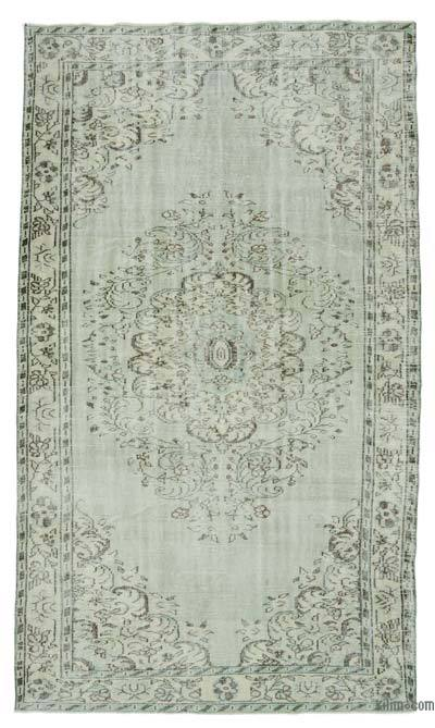"Over-dyed Turkish Vintage Rug - 5' 10"" x 10' 4"" (70 in. x 124 in.)"