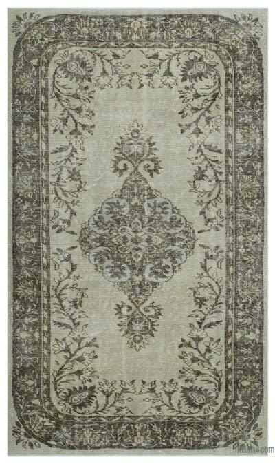 "Turkish Vintage Area Rug - 5'4"" x 9'1"" (64 in. x 109 in.)"