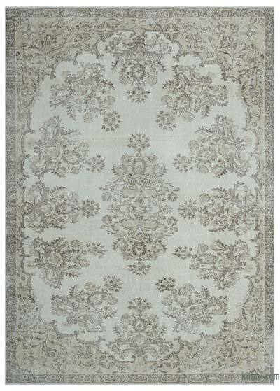 "Over-dyed Turkish Vintage Rug - 7'  x 9' 9"" (84 in. x 117 in.)"