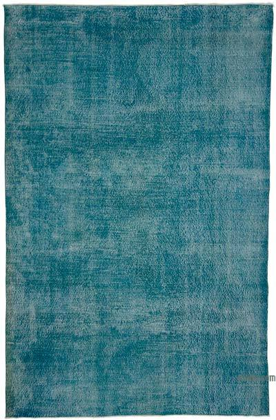 "Over-dyed Turkish Vintage Rug - 7'5"" x 11'6"" (89 in. x 138 in.)"