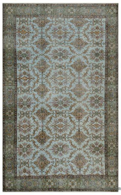 """Turkish Vintage Area Rug - 5'8"""" x 9'2"""" (68 in. x 110 in.)"""