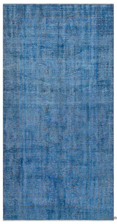 "Over-dyed Turkish Vintage Rug - 3'10"" x 7'9"" (46 in. x 93 in.)"