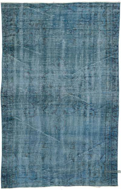 "Over-dyed Turkish Vintage Rug - 4'2"" x 6'7"" (50 in. x 79 in.)"
