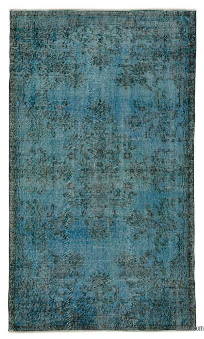 "Over-dyed Turkish Vintage Rug - 3' 10"" x 6' 9"" (46 in. x 81 in.)"