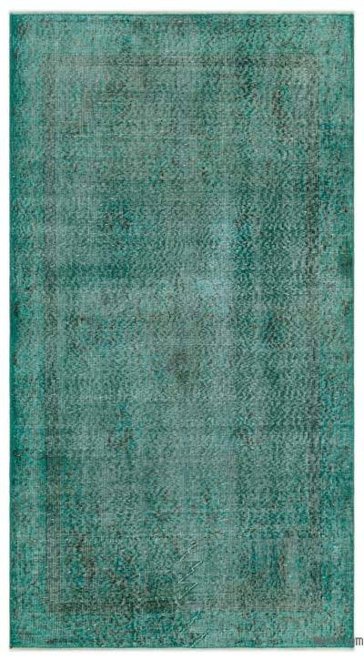 "Over-dyed Turkish Vintage Rug - 3'9"" x 6'9"" (45 in. x 81 in.)"