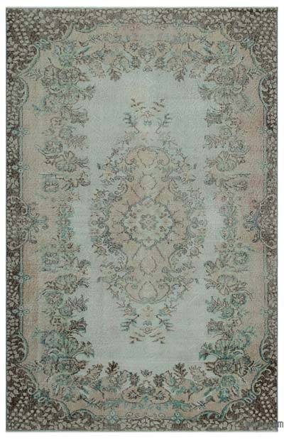 "Turkish Vintage Area Rug - 5' 5"" x 8' 5"" (65 in. x 101 in.)"