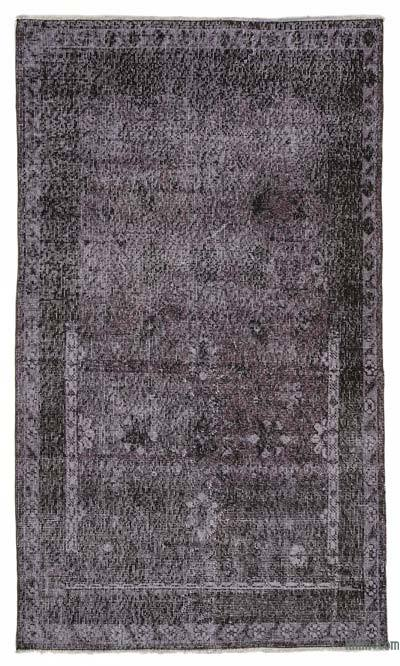 "Over-dyed Turkish Vintage Rug - 3'5"" x 5'10"" (41 in. x 70 in.)"