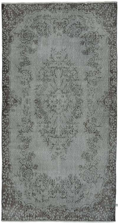 "Over-dyed Turkish Vintage Rug - 3' 8"" x 7' 3"" (44 in. x 87 in.)"