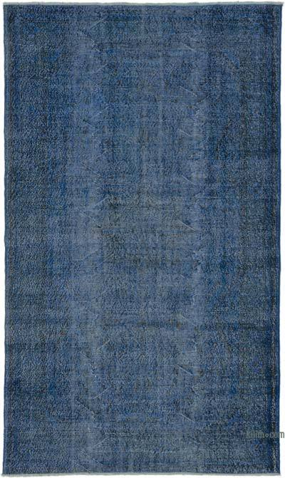 "Over-dyed Turkish Vintage Rug - 5'5"" x 9'4"" (65 in. x 112 in.)"