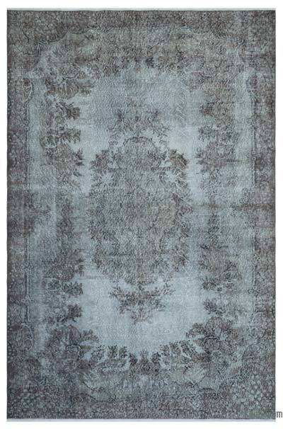 "Over-dyed Turkish Vintage Rug - 6' 2"" x 9' 6"" (74 in. x 114 in.)"