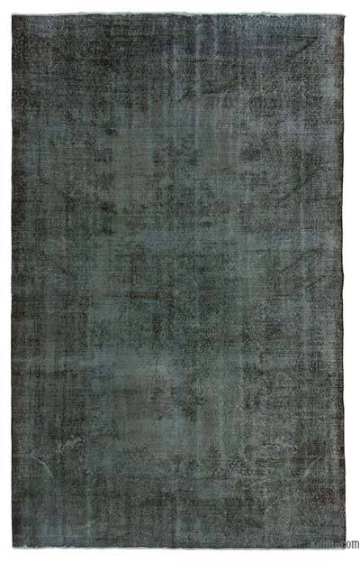 "Over-dyed Turkish Vintage Rug - 6'5"" x 10'4"" (77 in. x 124 in.)"
