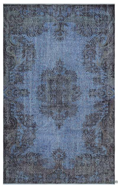 "Over-dyed Turkish Vintage Rug - 5' 7"" x 8' 11"" (67 in. x 107 in.)"