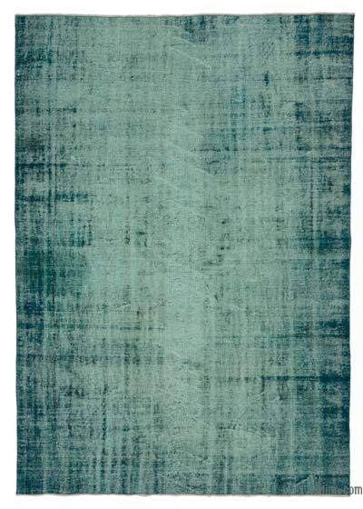 "Over-dyed Turkish Vintage Rug - 6' 4"" x 9' 1"" (76 in. x 109 in.)"