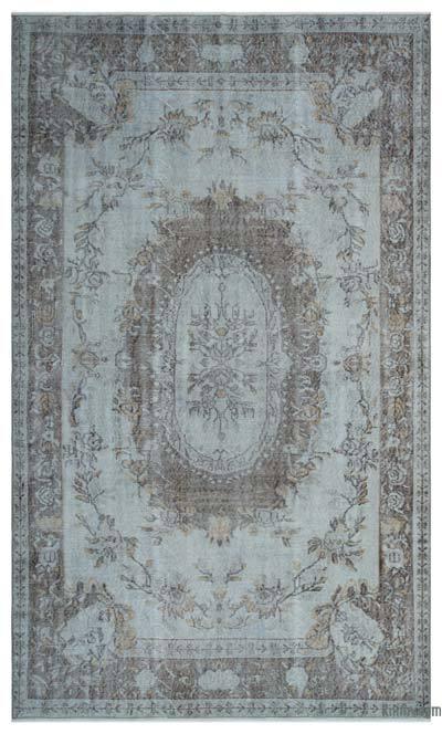 Alfombra Turca Vintage Sobre-teñida - 172 cm x 290 cm