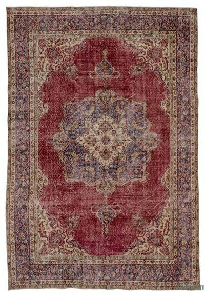 "Turkish Vintage Area Rug - 7' 1"" x 10' 6"" (85 in. x 126 in.)"