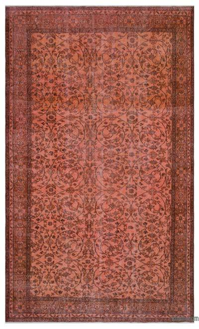 "Over-dyed Turkish Vintage Rug - 6'8"" x 10'9"" (80 in. x 129 in.)"