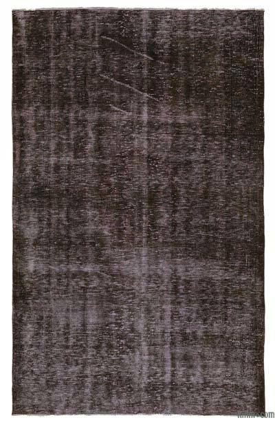 "Over-dyed Turkish Vintage Rug - 5'1"" x 8'2"" (61 in. x 98 in.)"
