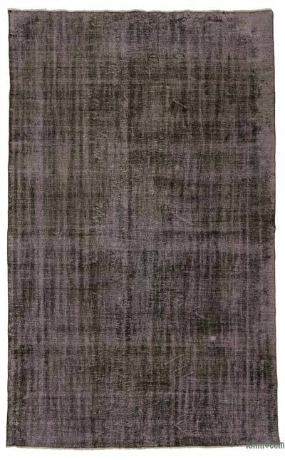 """Over-dyed Turkish Vintage Rug - 6'3"""" x 10'2"""" (75 in. x 122 in.)"""