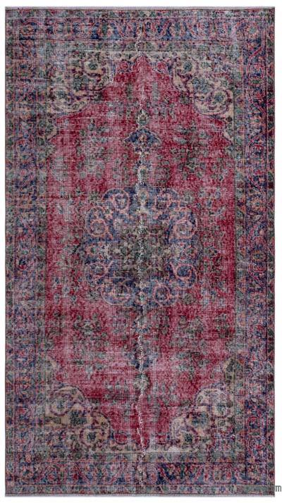"""Turkish Vintage Area Rug - 3'9"""" x 6'10"""" (45 in. x 82 in.)"""