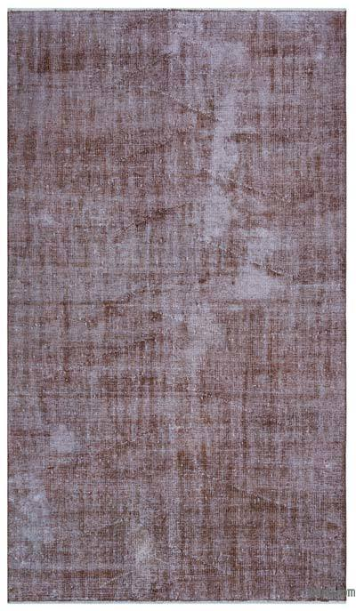 "Over-dyed Turkish Vintage Rug - 5'1"" x 8'7"" (61 in. x 103 in.)"