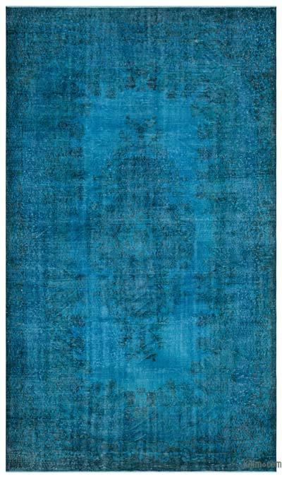 """Over-dyed Turkish Vintage Rug - 6' 4"""" x 10' 5"""" (76 in. x 125 in.)"""