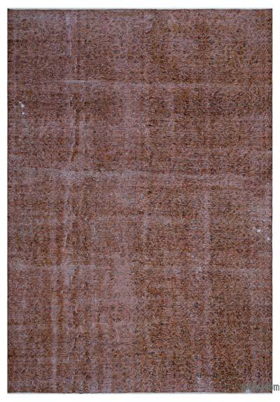 "Over-dyed Turkish Vintage Rug - 7'2"" x 10'2"" (86 in. x 122 in.)"