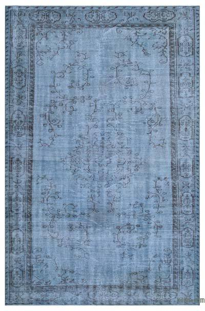 "Over-dyed Turkish Vintage Rug - 5'9"" x 8'8"" (69 in. x 104 in.)"