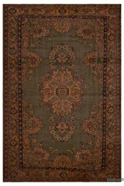 """Turkish Vintage Area Rug - 6'  x 8' 10"""" (72 in. x 106 in.)"""