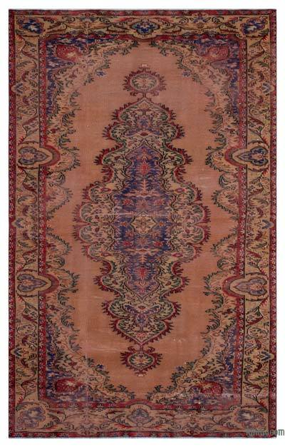 """Turkish Vintage Area Rug - 5' 10"""" x 9' 4"""" (70 in. x 112 in.)"""