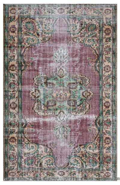 """Turkish Vintage Area Rug - 6' x 9'2"""" (72 in. x 110 in.)"""