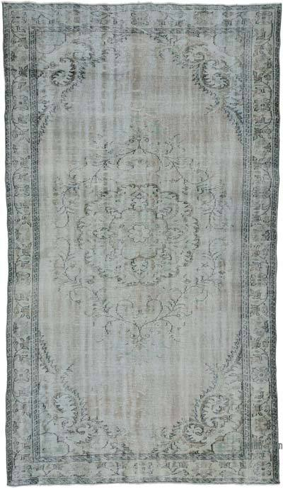 "Over-dyed Turkish Vintage Rug - 5' 6"" x 9' 10"" (66 in. x 118 in.)"