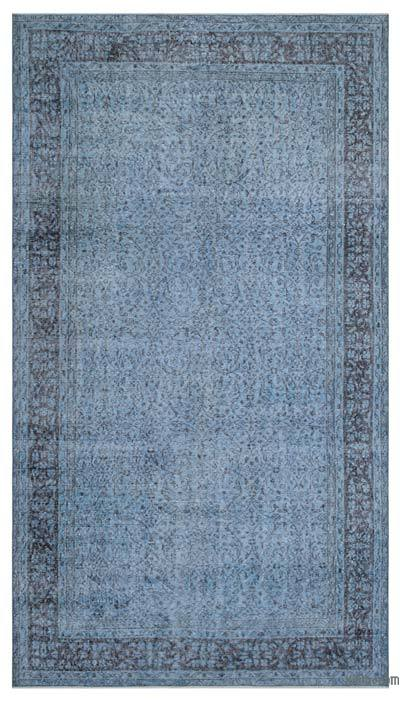 "Over-dyed Turkish Vintage Rug - 5'10"" x 10'4"" (70 in. x 124 in.)"