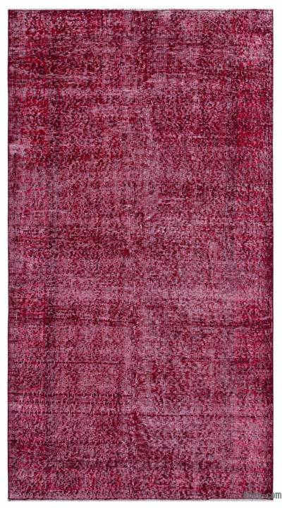 "Over-dyed Turkish Vintage Rug - 3' 6"" x 6' 9"" (42 in. x 81 in.)"