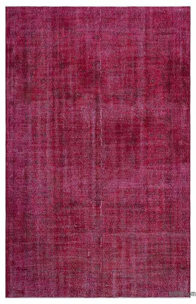 "Over-dyed Turkish Vintage Rug - 6' 2"" x 9' 8"" (74 in. x 116 in.)"