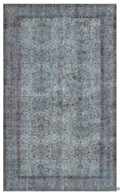 Boyalı El Dokuma Vintage Halı - 170 cm x 278 cm