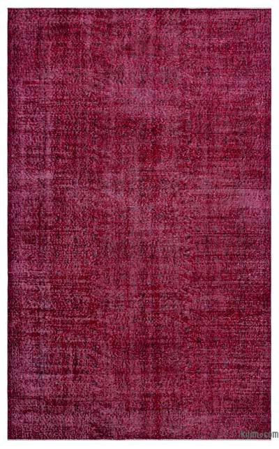 "Over-dyed Turkish Vintage Rug - 5'7"" x 9'2"" (67 in. x 110 in.)"