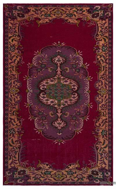 """Turkish Vintage Area Rug - 5' 8"""" x 9' 6"""" (68 in. x 114 in.)"""