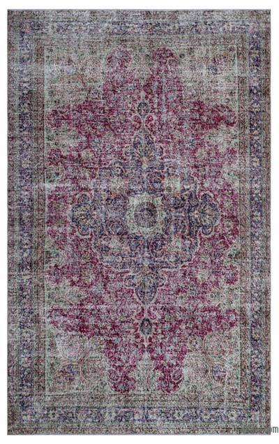 """Turkish Vintage Area Rug - 6'6"""" x 10'8"""" (78 in. x 128 in.)"""