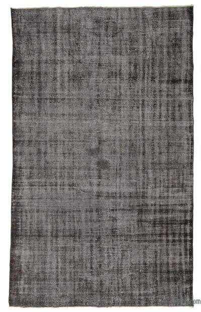 """Over-dyed Turkish Vintage Rug - 5'10"""" x 9'6"""" (70 in. x 114 in.)"""