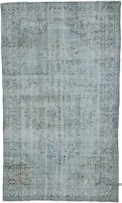 "Over-dyed Turkish Vintage Rug - 5' 11"" x 10' 2"" (71 in. x 122 in.)"