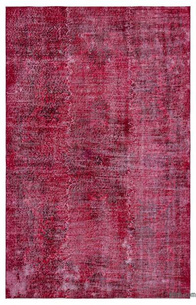 """Over-dyed Turkish Vintage Rug - 5' x 7'10"""" (60 in. x 94 in.)"""