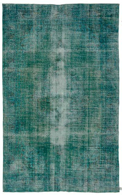 "Over-dyed Turkish Vintage Rug - 6'8"" x 11' (80 in. x 132 in.)"