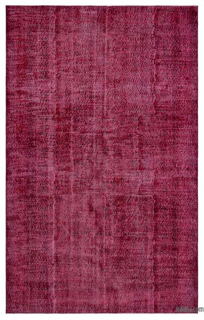 "Over-dyed Turkish Vintage Rug - 6' 4"" x 10' 2"" (76 in. x 122 in.)"