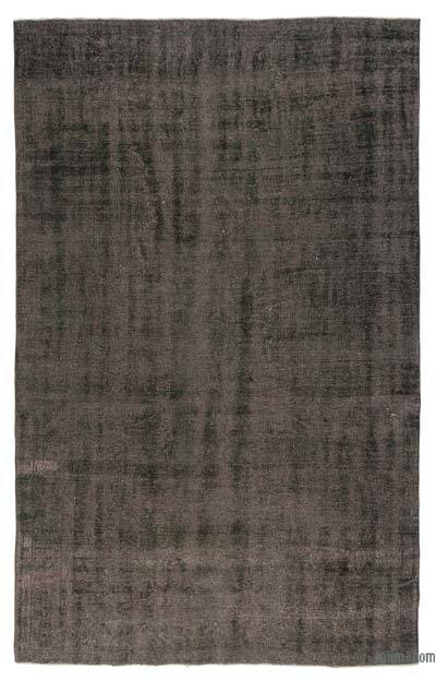 """Over-dyed Turkish Vintage Rug - 6' 2"""" x 10'  (74 in. x 120 in.)"""
