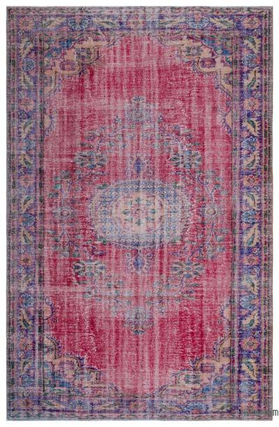 "Turkish Vintage Area Rug - 6'5"" x 9'7"" (77 in. x 115 in.)"