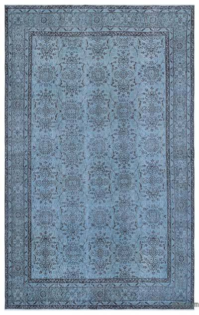 "Over-dyed Turkish Vintage Rug - 6'  x 9' 7"" (72 in. x 115 in.)"