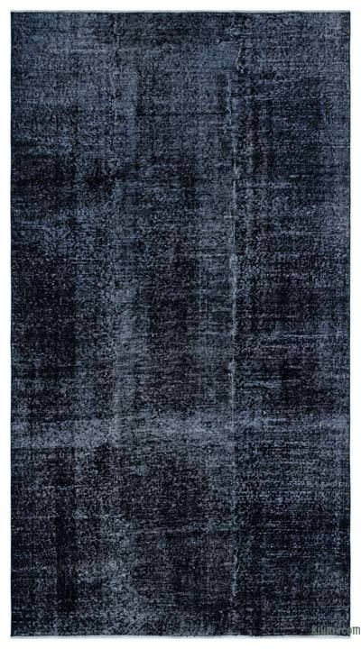 """Over-dyed Turkish Vintage Rug - 4'10"""" x 8'10"""" (58 in. x 106 in.)"""