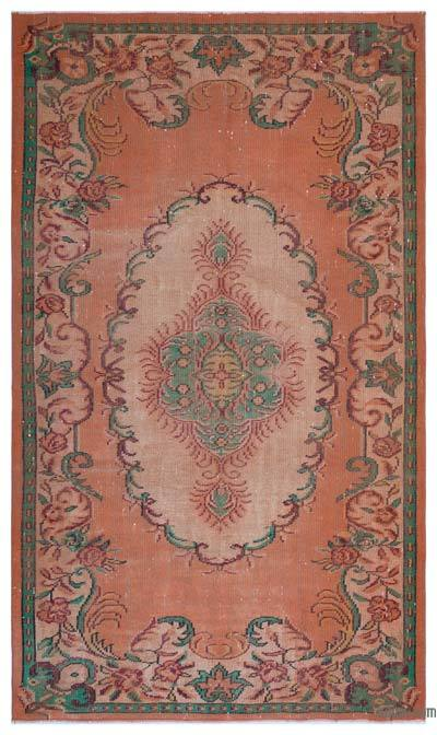 "Turkish Vintage Area Rug - 5'7"" x 9'3"" (67 in. x 111 in.)"
