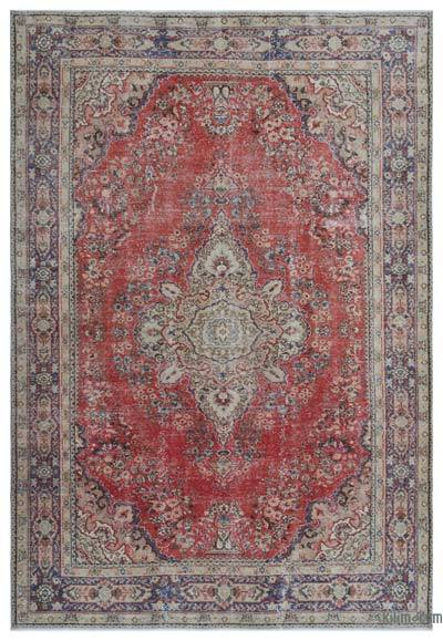 "Turkish Vintage Area Rug - 6'2"" x 8'11"" (74 in. x 107 in.)"